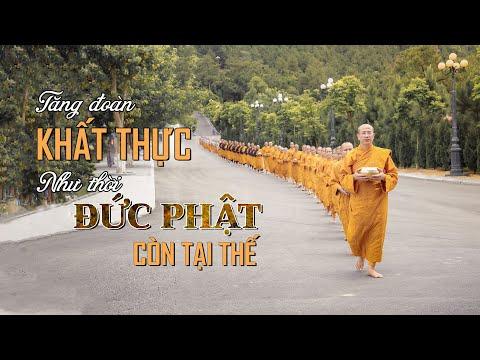 Chư Tăng Chùa Ba Vàng Trì Bình Khất Thực Như Thời Đức Phật Còn Tại Thế