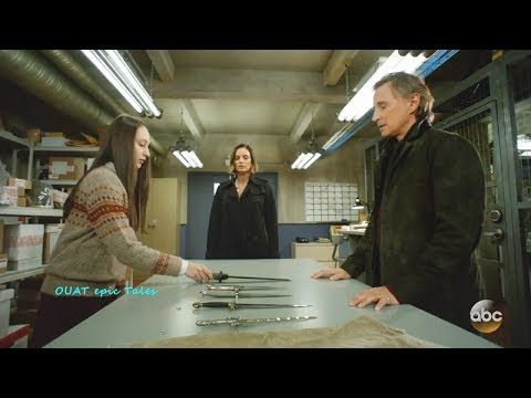 Once Upon A Time 7x10 Rumple makes Anastasia tell which Dagger has Magic  Season 7 Episode 10