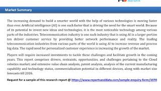 AI in Telecommunication Market Analysis Till 2027