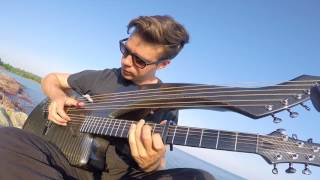 In The End - Linkin Park - (Ambient Version) - Harp Guitar Cover - Jamie Dupuis