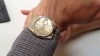 ROLEX vintage wristwatch, Oyster Perpetual Datejust Chronometer Ref.1601, dated 1972