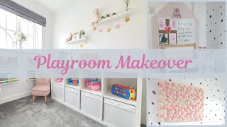 Playroom Makeover & Tour / Playroom Transformation / Ikea