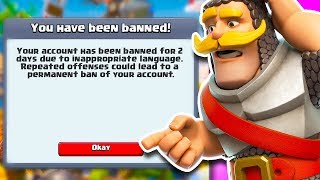 Supercell *BANNED* Her Account in Clash Royale!!
