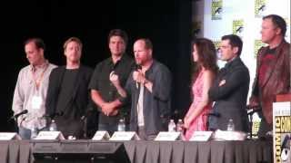 SDCC 2012: Firefly (Joss & Nathan) 10th Years Panel #5