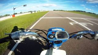 preview picture of video 'GoPro: Suzuki FZ 50 // Polideportivo Ciudad de Mercedes // Uruguay'
