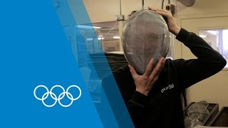 How The Fencing Mask is Made | Faster Higher Stronger
