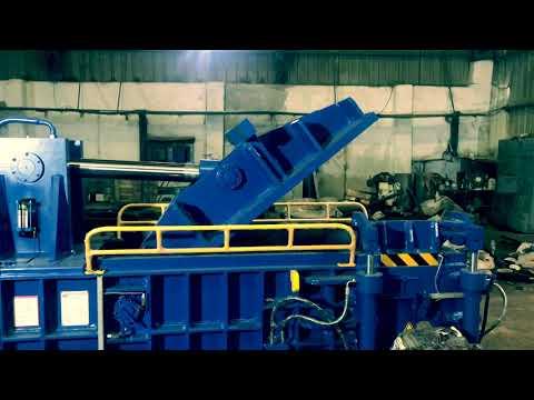 Hydraulic Double Compression Scrap Baling Press