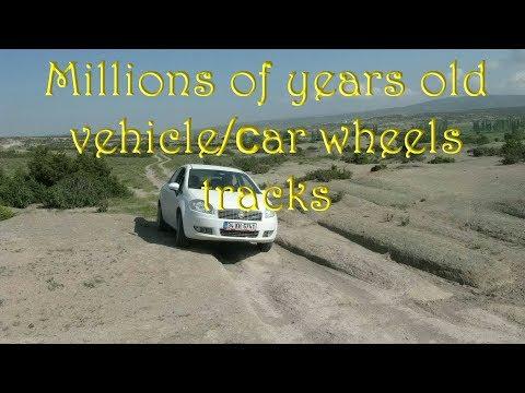"Alexander Koltypin ""Millions of years old vehicle/сar wheels tracks; Phrygia Valley, Turkey"""