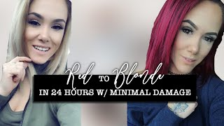 Remove Red Hair Dye At Home with Minimal Damage