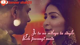 Nai Jaana By Awez Darbar What S App Status Download