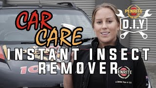 DIY Car Care - Instant Insect Remover