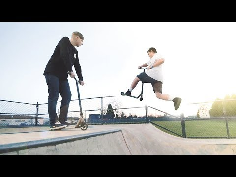 GAME OF SCOOT!  //  Chris vs Gabe 2.0  //  Harrisburg Skatepark