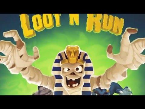 Loot N Run trailer + rules