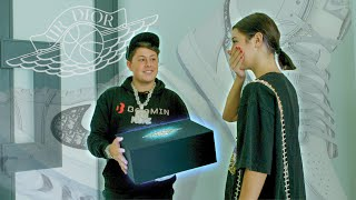 Getting Charli D'Amelio Jordan 1 Diors | Ben Kickz