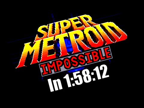 Super Metroid Impossible WR 1:58:12