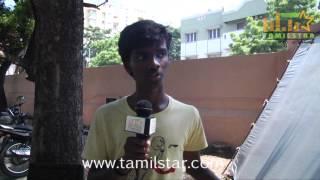 Murukesh at Vajram Movie Shooting Spot
