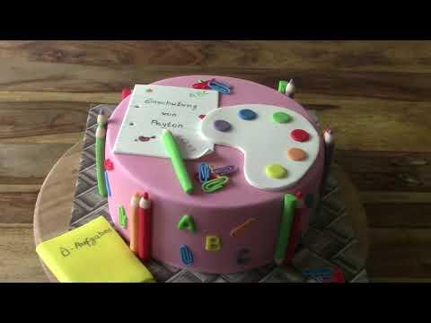 Идея торта школьнику на первое сентября
