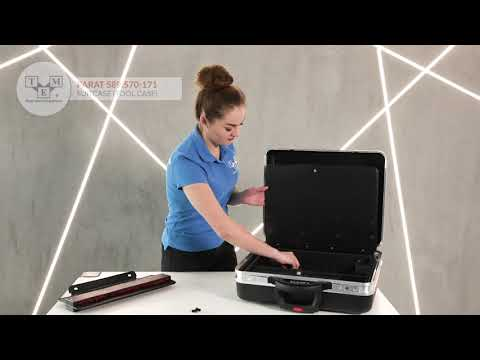 PARAT 589.570-171 - Suitcase: tool case on wheels - UNBOXING