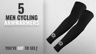 Top 10 Men Cycling Armwarmers [2018]: Optimum Mens Hawkley Cycling Arm Warmers, Black, Medium