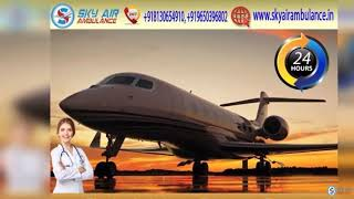 Select Air Ambulance in Ranchi with Hi-tech Medical Aid