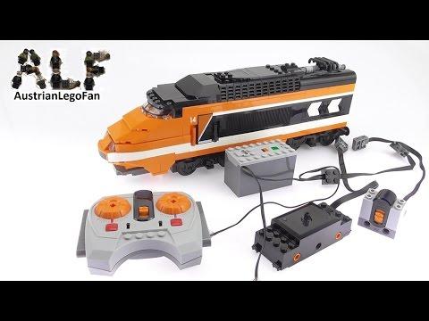 Vidéo LEGO Power Functions 88002 : Moteur de train