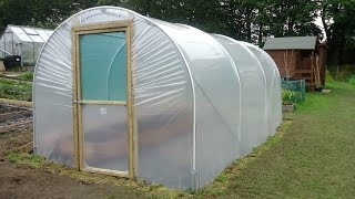 How To Build A Polytunnel | Polytunnel Construction