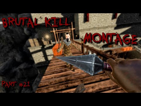 BRUTAL KILL MONTAGE #21 - Blade And Sorcery VR