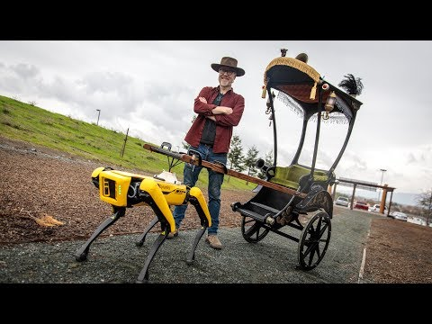 We finally are seeing practical use of Boston Dynamics Robots