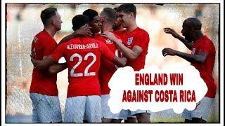 Live Review   England 2-0 Costa Rica