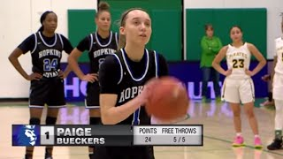 Park Center vs. Hopkins Girls High School Basketball - Paige Bueckers