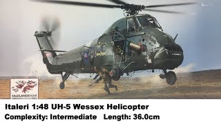 Italeri 1:48 UH-5 Wessex Helicopter Kit Review