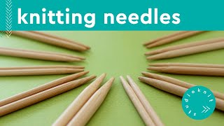 SELECTING YOUR KNITTING NEEDLES ► Day 3 Absolute Beginner Knitting Series