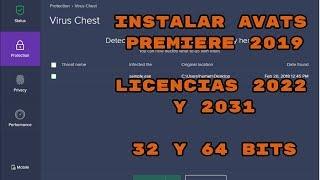 Descargar E Instalar #Avast Premiere 2019/ Licencias 2022/2031