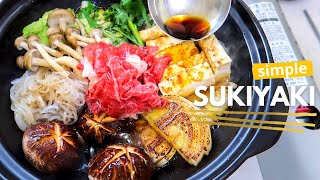 How to: Sukiyaki at home! すき焼き | Sear First, Deeper Taste
