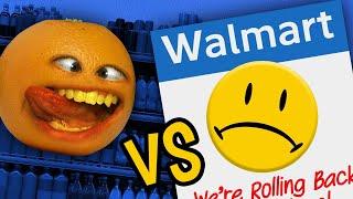 Annoying Orange vs Walmart!!