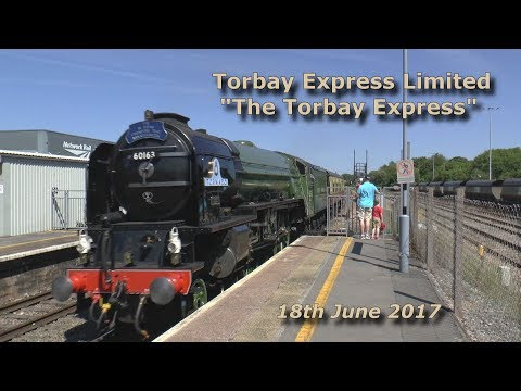 60163 'Tornado' at Bristol Parkway and Westbury with 'The To…
