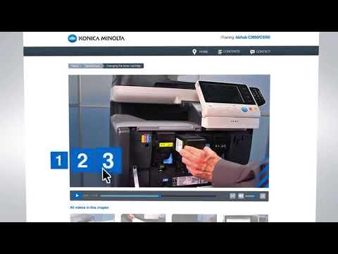 Konica Minolta bizhub C360 C308 C258 185 Naprawa Wymiana Instalacja Serwis Konfiguracja PC-NET