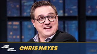 Chris Hayes Is Worried About the Next Election