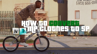 GTA V - HOW TO CONVERT MP CLOTHES TO SP