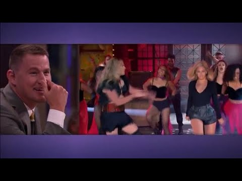 Channing Tatum blikt terug op lip sync battle met Beyoncé  - RTL LATE NIGHT/ SUMMER NIGHT