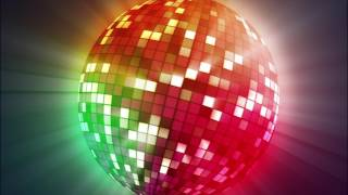 Colorful Big Discoball | 4K Relaxing Screensaver
