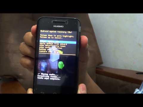 Hard Reset Huawei Y220 (Resetear / Restaurar)