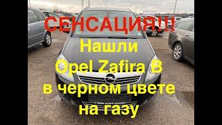 СЕНСАЦИЯ! Нашли Opel Zafira B в черном цвете на газу