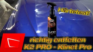 Autolack richtig entfetten - Politurreste zuverlässig entfernen K2 PRO - Klinet Pro Inspection Spray
