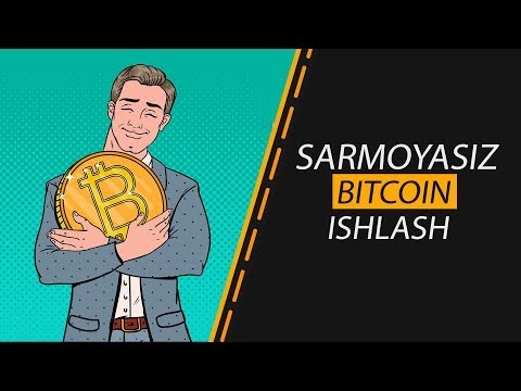 SARMOYASIZ BITCOIN ISHLASH/SUPER KRAN