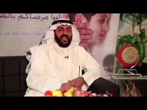 الاخ جاسم الربيع / مدير ادارة التنمية الاجتماعية - يتحدث عن مشروع افطار الصائم