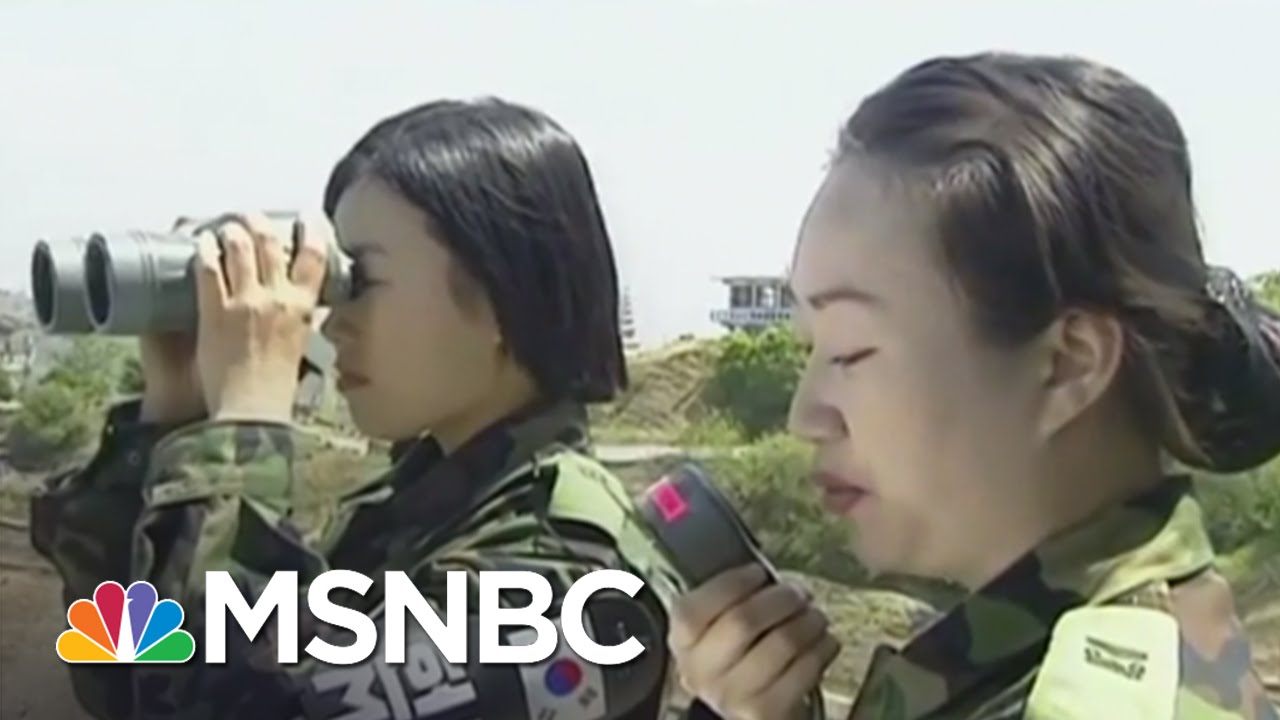 North & South Korea Ready For Conflict   MSNBC thumbnail