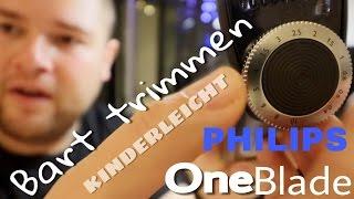 Bartpflege: Bart trimmen und Bart-Konturen rasieren mit Philips OneBlade