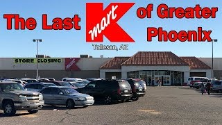 (PERMANENTLY CLOSED)THE LAST KMART OF GREATER PHOENIX | Mall Fantasy