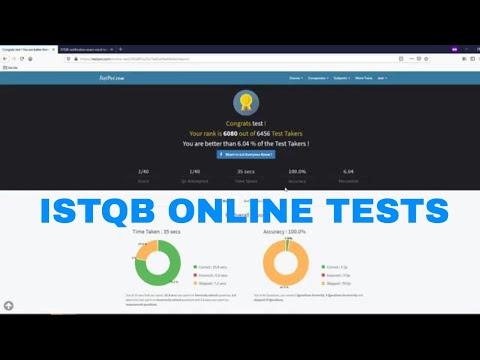 ISTQB online tests #qaguy